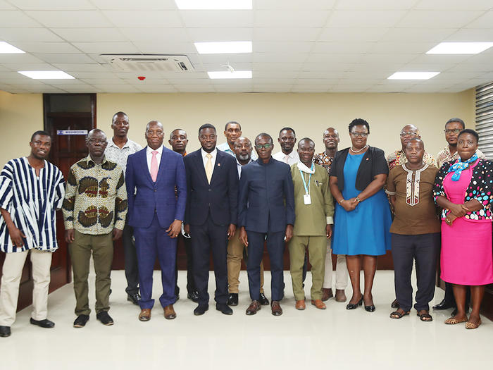 Outgoing and elected executives of SSA-UoG